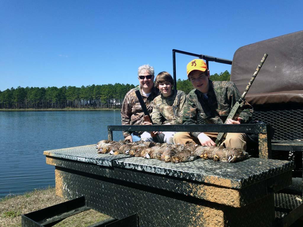 Family Quail Hunting