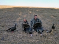 Father and Son Turkey Hunting