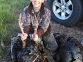 Young GA turkey hunter smiling