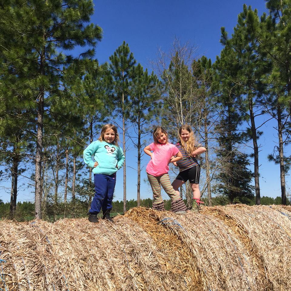 Children On Pose