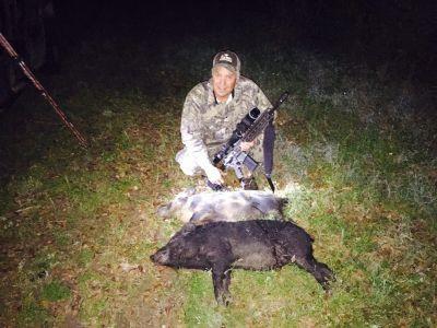 Night Hunt 2 Hogs