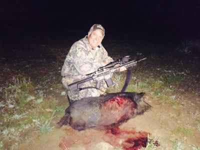 Night Hunt Hog