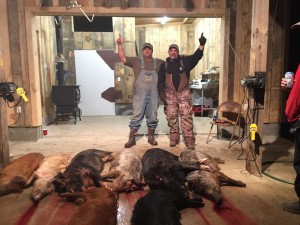 Atlanta Group hog hunt
